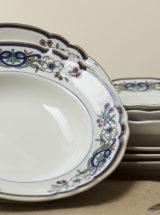 Platos porcelana antigua vintage Pontesa