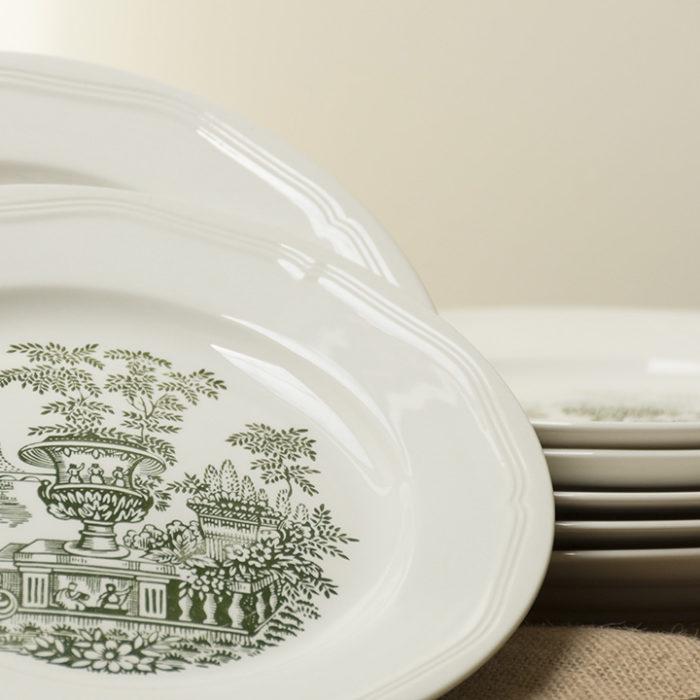 Platos porcelana antigua vintage