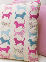 Cojines infantiles-perritos-rosa-TimesMarket-handmade