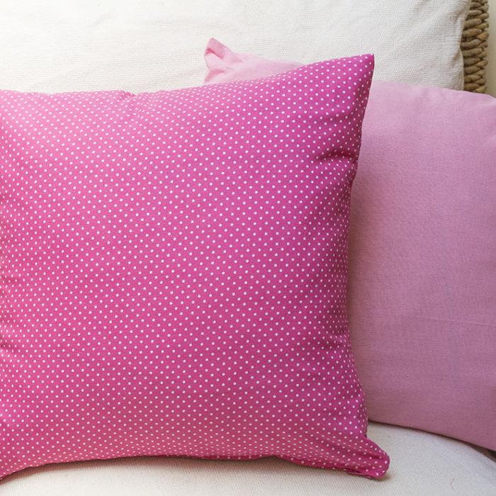 Cojines infantiles-niña-rosa-handmade-TimesMarket