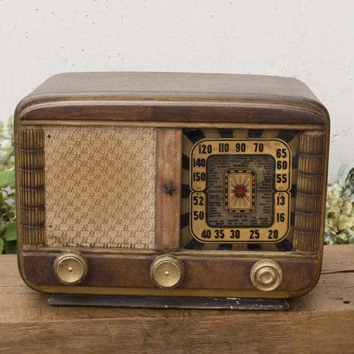 Radio antigua time 39 s market - Fotos radios antiguas ...