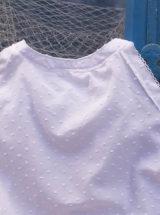 camisa plumeti blanca medio cuerpo